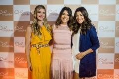 Natália Queiroz, Clarissa Aguiar e Mônica Pinto