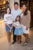 Bruna, Antônio Jorge, Alícia e Bianca Guimarães