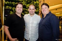 Ciro Moreira, Andre Linheiro e Rodrigo Moreira