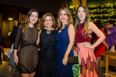 Joana Moreira, Norma Brasil, Tatiana Jeressati e Lara Brasil
