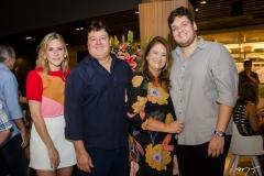 Martinha Freire, Rodrigo, Safira e Ciro Moreira