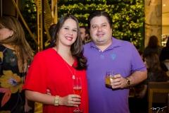 Rayza Demétrio e João Ricardo Linhares