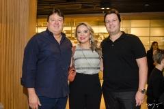 Rodrigo Moreira, Edna Loureiro e Ciro Moreira