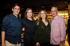 Vagner Teixeira, Adriana Teixeira, Almeirinda e Jairo Oliveira