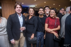 Isaac Coimbra, Alcilane Mota, Davi Lee, Eduardo Mota E Simone Barcelos