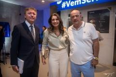 Maurício Filizola E Márcia E Fernando Travessoni