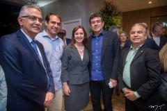 Nilson Diniz, Salmito Filho, Nicole Barbosa, Alexandre Pereira E Eron Moreira