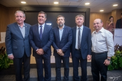 Ricardo Cavalcante, Luiz Gastão, Élcio Batista, Maurício Filizola E Sérgio Aguiar