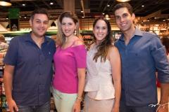 Bruno Bastos, Rebeca Leal, Márcia e André Gurgel
