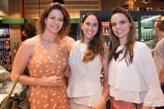 Carol, Márcia e Cristiane Gurgel