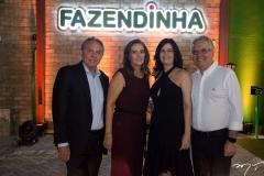 Cid Frota, Silene Gurgel, Inês Sobreira e Ricardo Braga