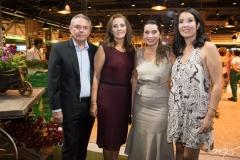 Cid Frota, Silene Gurgel, Márcia Travessoni e Renata Gurgel