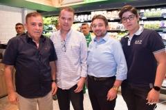 Cláudio Targino, Randal Borges, Crisanto Lima e Lincoln Neto