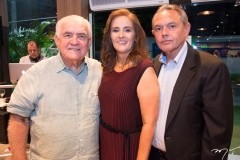 Fernando Pontes, Silene Gurgel e Cid Frota