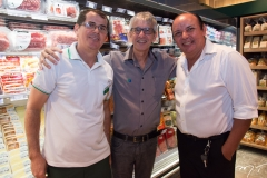 Rivaldo Carneiro, Macilon Sousa e Eliseu Macedo