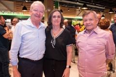 Rommel Bezerra, Silvana Gurgel e Edilmo Cunha