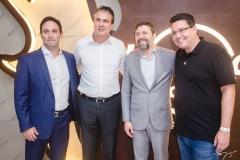 Felipe Asfor, Governador Camilo Santana, Elcio Batista e Samuel Sicchierolli (2)