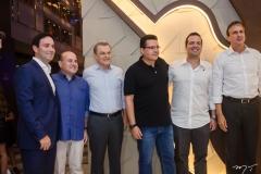Felipe Asfor, Prefeito Roberto Claudio, José Sarto, Samuel Sicchierolli, Rodrigo Ponte e Governador Camilo Santana (2)