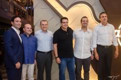 Felipe Asfor, Prefeito Roberto Claudio, José Sarto, Samuel Sicchierolli, Rodrigo Ponte e Governador Camilo Santana (7)