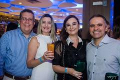 Regis, Leila Melo, Cristiane Holanda e Fábio Eugênio
