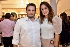Diego Cabral e Fernanda Esteves