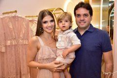 Giovanna Gripp, Benicio e Felipe Esteves