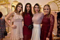 Giovanna Gripp, Luana Tomaz, Karla Alexandrino e Nathalia Petrone