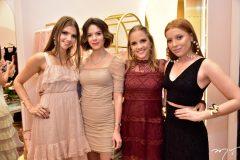 Giovanna Gripp, Paulinha Sampaio, Nathalia Petrone e Fê Borges