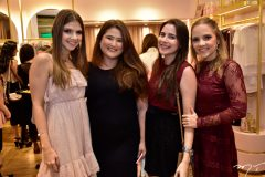 Giovanna Gripp, Raissa Tomaz, Patricia Oliveira e Nathalia Pretoni