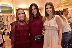 Nathalia Petrone, Luana Lobo e Giovanna Gripp