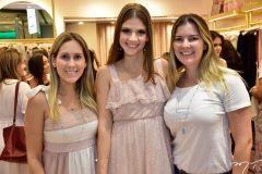 Paula Rolim, Giovanna Gripp e Lurdinha Brasil