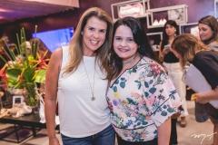 Alexandra Pinto e Larissa Sampaio