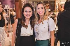 Claudiana Loureiro e Isabela Barros Leal