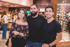 Diana Marques, Luiz Victor Torres e Bruno Parente