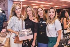 Janaina Gradvohl, Tereza Ribeiro, Ticiana Rolim e Isabela Barros Leal