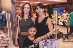 Jussara Regás, Flavia Oliveira e Renata Romcy