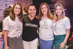 Marilia Queiroz, Dora Andrade, Ticiana Rolim e Isabela Barros Leal