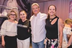 Socorro França, Dora Andrade, Gerson e Ana Claudia Guimarães