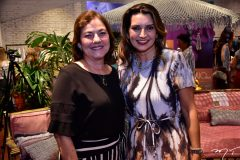 Ana Maria Studart e Márcia Travessoni