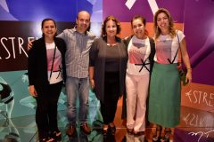 Cláudia Andrade, Henrique Soares, Annette Castro, Dora Andrade e Ticiana Rolim