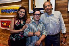 Ednan, Norton e Mauricio Lima