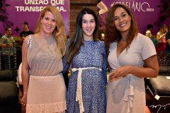 Giordana Martins, Sara Brasil e Neide Lima