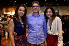 Gisele Reis, Adalberto Siebra e Celina Hissa