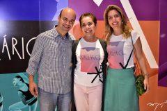 Henrique Soares, Dora Andrade e Ticiana Rolim