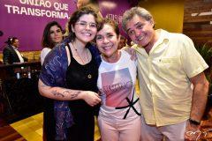 Isabel e Dora Andrade e Wilson Horta