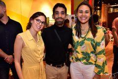 Raquel Saturno, David Lee e Natalia Martins