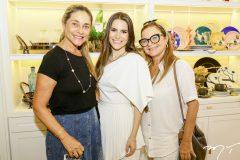 Celia Magalhães, Lara Linhares e Vera Passos
