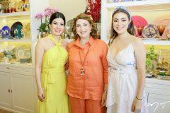 Lia LInhares, Suva e Luiza Albuquerque