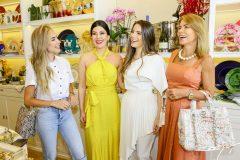Priscila Silva, Lia e Lara Linhares e Maira Silva