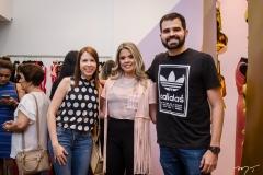 Bia Costa, Brena Batista e Daniel Queiroz